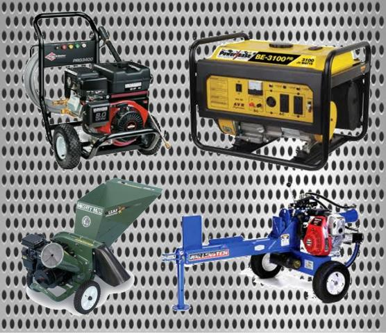 pressure washers log splitters wood chippers.jpg